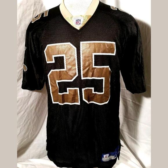 REGGIE BUSH  25 Saints Reebok NFL Jersey. (C6E). M 5b597ee86a0bb7631ab1e621 13128750f